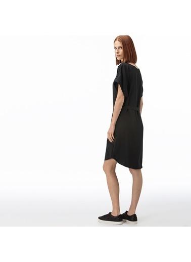 Lacoste Kadın Kayık Yaka Elbise EF0012.12S Siyah